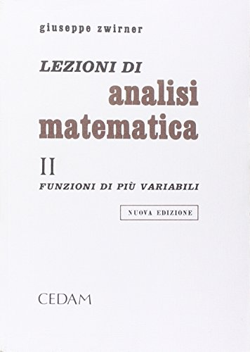 Lezioni di analisi matematica: 2