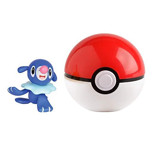 Pokémon 35926 ROBBALL & POKÈBALL, Spielset mit Original Pokemonfigur ca. 5 cm und Pokéball für Clip N Go Gürtel, Set mit Pokeball und Pokemon Figur für Pokemontrainer ab 4 Jahre, Trainer (Pokemon Pokeball Mit Pokemon)