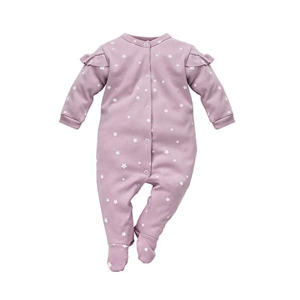 Pinokio 100% Algodon Batista Talla 50 (0 Meses) Pelele Pijama Mono Ropa para Dormir Ropa para Hospital racién Nacido… 1