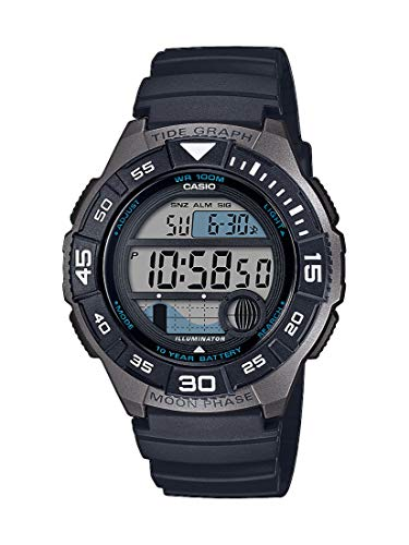 CASIO Herren Digital Quarz Uhr mit Resin Armband WS-1100H-1AVEF -