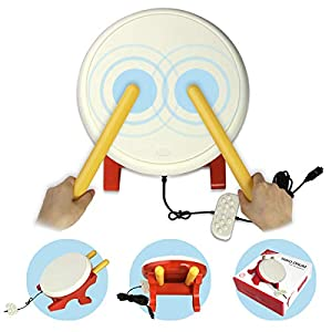 Taiko Drum für Nintendo Switch, Flexble Drum Controller Drum Master für Switch Video Spiel, Taiko Game Drum Drumstick für Nintendo Switch Version