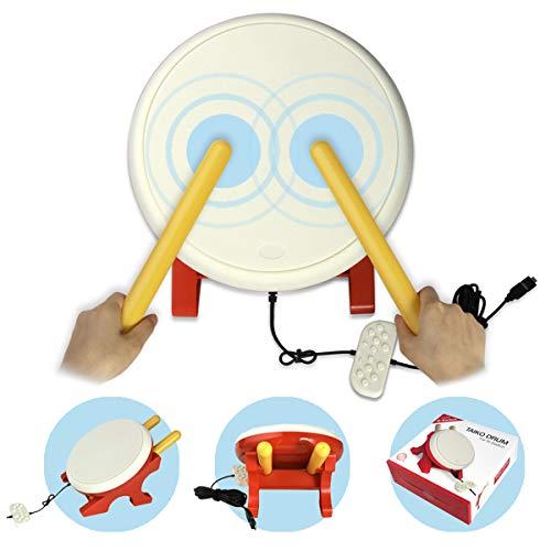 Taiko Drum für Nintendo Switch, Flexble Drum Controller Drum Master für Switch Video Spiel, Taiko Game Drum Drumstick für Nintendo Switch Version