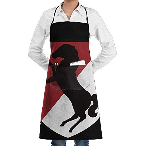 Unisex Recommended Aprons 11th Armored Cavalry Regiment Patch Professional Grade Chef Apron for Kitchen, Outdoor Barbecue,Wear and Fall in Love