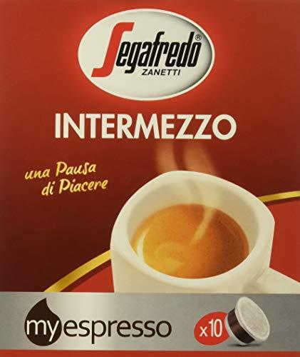 Intermezzo Capsule, Caffè tostato macinato in 10 capsule monodose, 360 g - [confezione da 6]