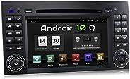 XOMAX XM-D10ZA Autoradio mit Android 10 passend für Mercedes A-Klasse W169, B-Klasse W245, Vito, Viano, Sprint