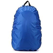 Rucksack Regenschutz Cover Rucksack Regenhülle Rucksacküberzug wasserdicht für Camping, Wandern, ... (Größe: 20L - 30L)