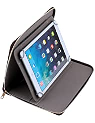 """Ingenious Quality Multipurpose 7"""" 7.7"""" 8 7 inch 8 inch Tablet PC MID PU Leather Protect Cover Case Stand with 360 Hortizontal and Vertical Rotation vi"""