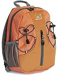 Elementerre SNAKE 8 - Mochila de 8 litros, color naranja, talla 22 x 29