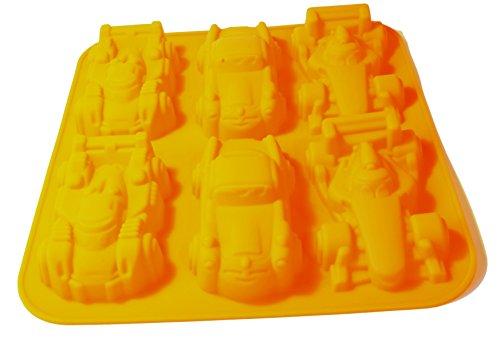 Consigli Acquisto Forni : Stampo per dolci in silicone a forma di macchinine colore