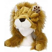 Niños sombrero animal - felpa de la novedad León Sombrero - la piel de imitación sombrero animal con orejas largas