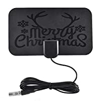 ‏‪Mini HD Digital TV Antenna HDTV Antenna Christmas‬‏