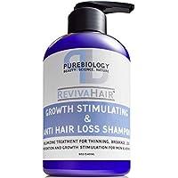 Shampooing stimulant la pousse des cheveux (Unisexe) avec la biotine, Kératine et révolutionnaire anti perte de...