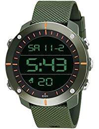 Eddy Hager 800 Digital Army Green Sports Watch - for Men