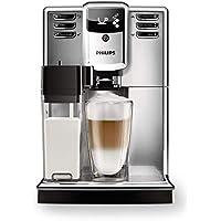 Philips 5000 series EP5365/10 - Cafetera (Independiente, Máquina espresso, 1,8 L, Granos de café, De café molido, Molinillo integrado, Negro, Acero inoxidable)