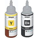Epson t6644 amarillo botella de tinta compatible c13t66444a