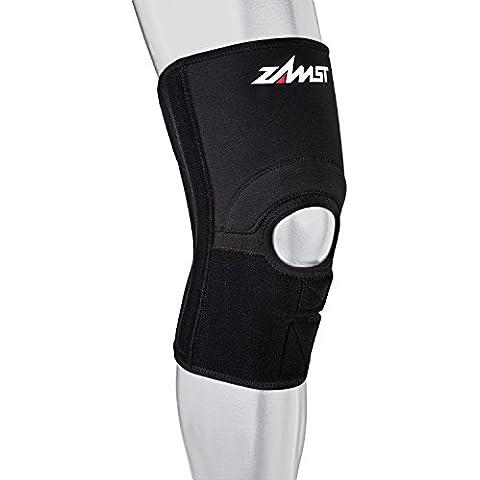 Zamst Zk-3 Ginocchiera Supporto Moderato, Nero, S (43-46 cm) - Uniform Nero