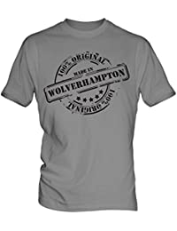 Made In Wolverhampton - Mens T-Shirt T Shirt Tee Top