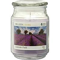 Belleek Living - Candela profumata, aroma: campo di lavanda