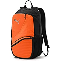 Puma 75573 Backpack, Unisex Adulto, Black/Shocking Orange, OSFA