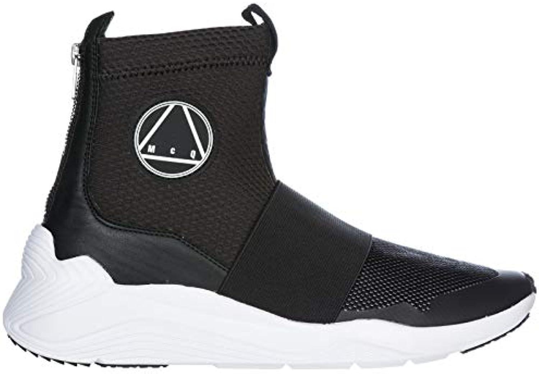 MCQ Alexander McQueen scarpe da da da ginnastica Alte Hikaru Uomo Nero | diversità imballaggio  | Uomo/Donna Scarpa  7fc031