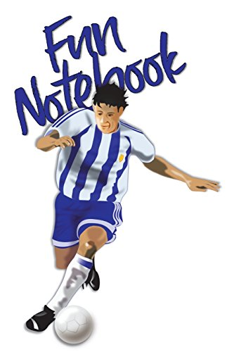 Fun Notebook: Boys Books - Mini Composition Notebook - Ages 6 -12  - MVP Soccer por Simple Planners and Journals