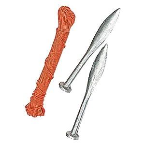 Spear & Jackson – Cordel trazador y clavos para albañilería