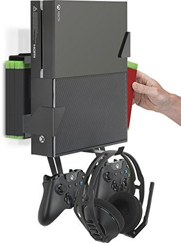 GamingXtra 4-in-1 Wandhalterungspaket für Xbox One - Schwarz