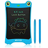 NEWYES Tableta de Escritura LCD de Colores , Tableta de Dibujo 8,5 Pulgadas Tablero de Dibujo electrónico Grandioso para Niños Oficina Familia(Azul)