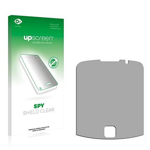 upscreen Anti-Spy Blickschutzfolie für RIM BlackBerry Curve 9330 3G Privacy Screen Displayschutzfolie - Sichtschutz, Kratzfest 9330 Screen Protector