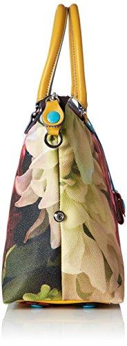 GABS - Katia, Borse a tracolla Donna Multicolore (Ortensie)