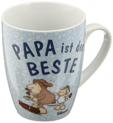 Nici 28469 Fancy Mugs - Taza con mensaje 'Papá es el mejor' (en alemán)