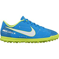 lowest price 9088b 54feb Nike JR MERCURIALX VRTX III NJR TF - Zapatillas de fútbol de Neymar Jr,  Unisex