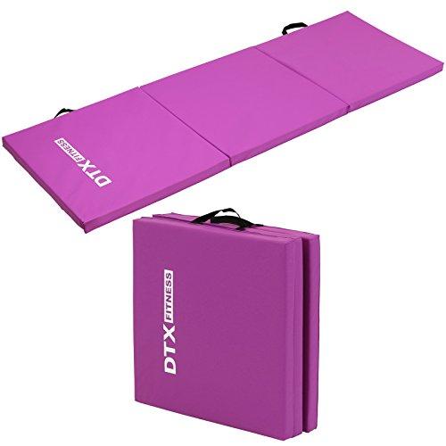 DTX Fitness Tapis d'Exercice Pliante 180cm - Choix de Couleurs