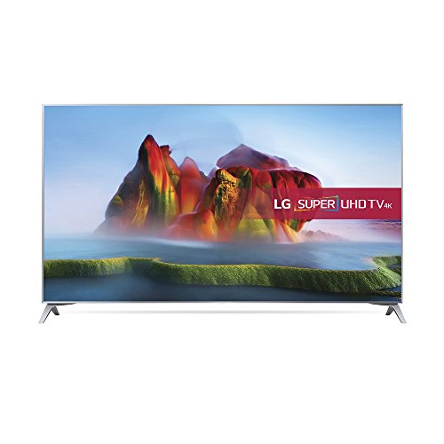 LG 49SJ800V 49 inch Super UHD Premium 4K HDR Smart LED TV (2017 Model)-Silver