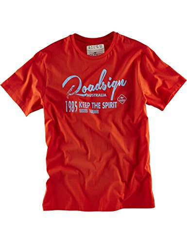 "ROADSIGN australia Basic T-Shirt ""KEEP THE 85 SPIRIT"" Orange"