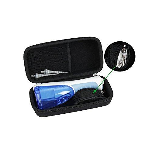 Funda de viaje rígida de EVA para Waterpik Waterflosser inalámbrico Plus profesional de agua para cepillo de dientes Nano Sonic WP450 WP-450 WP-440