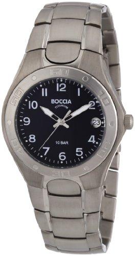 Boccia Herren-Armbanduhr XL Analog Titan 3558-02