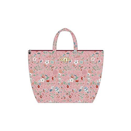 PiP Studio Strandtasche Spring to Life Petit Pink Blumen Blüten Strand Urlaub