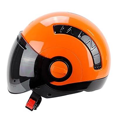 YIHANG Electric Car Four Seasons Mini Helmet Motorcycle Fog Men And Women Fashion Personality Helmets from Yihang Processing plant