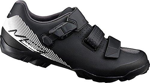 Zapatillas De Ciclismo Shimano Sh M Mtb Me300, Negras (blanco / Negro)