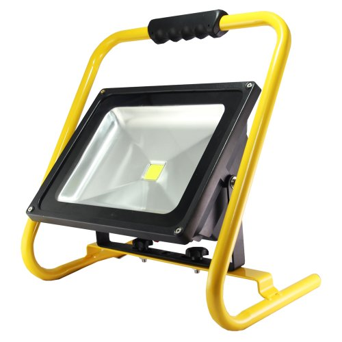 Preisvergleich Produktbild LED's light  Akku Strahler 50 W Handlampe Arbeitsleuchte Baustrahler IP65 Fluter Baulicht chnurlos & tragbar 300181
