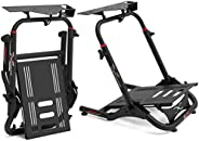 Extreme Sim Racing Wheel Stand Cockpit SGT Racing Simulator - Black Edition For Logitech G25, G27, G29, G920,