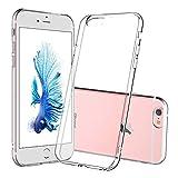 DOSMUNG Cover per iPhone 6/6s, Trasparente TPU Silicone iPhone 6/6s Protettiva Case, Morbido Slim [Anti Scivolo] [Anti-Graffio] [Anti-Ingiallimento] [la Ricarica Wireless] Clear Case per iPhone 6/6s