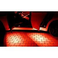 4x luci uscita porta SMD LED rosso Can sano adatto per Hyundai Matrix