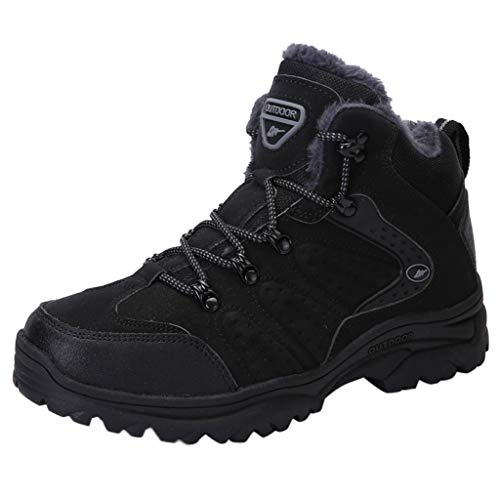 SuperSU-Sneaker Herren Damen Verschleißfest Warmer Wanderschuhe Wildleder rutschfeste Outdoor Kletterschuhe Winter Bequeme Trekking Laufschuhe 36-47
