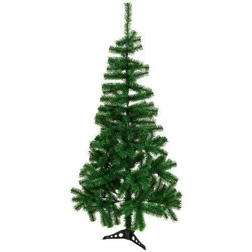 Unbekannt PMS 150cm 300Spitze PVC Weihnachtsbaum W/Kunststoff Boden Box C/La
