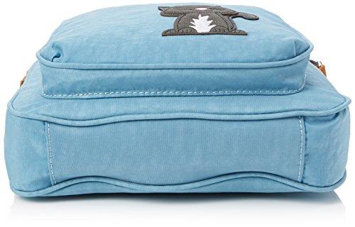SwankySwans - Emmy, Borsa a tracolla Donna Blu (Blue (Ice Blue))