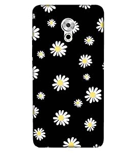 For Meizu Pro 6 Plus floral pattern ( white flower, pattern, nice pattern, floral pattern, floral pattern ) Printed Designer Back Case Cover By Living Fill
