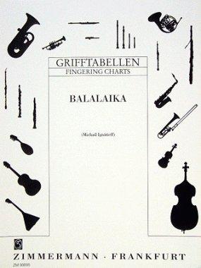 Grifftabelle für Balalaika