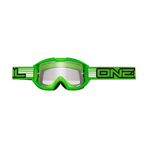 O'Neal Lunettes de moto-cross B1 Plat vert - Vert